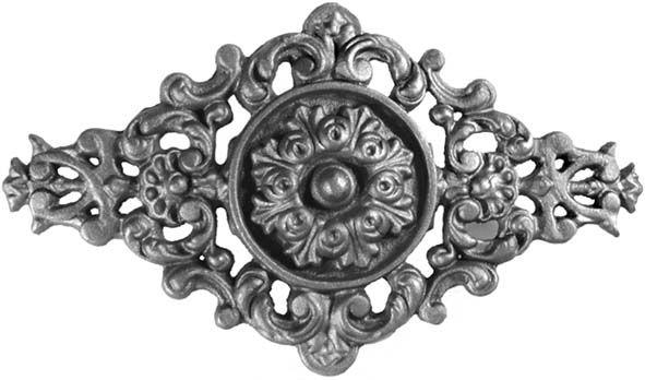 palmette en fonte pour d coration pour portail en fer On decoration pour portail fer