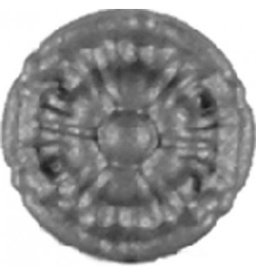 pièce élément ferronnier serrurier Rosace pour portail Diamètre 55 ACIER Ref: 10-03