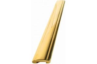pièce élément ferronnier serrurier Main courante 3000 x 50 Hauteur 15 LAITON Ref: BSMCL50