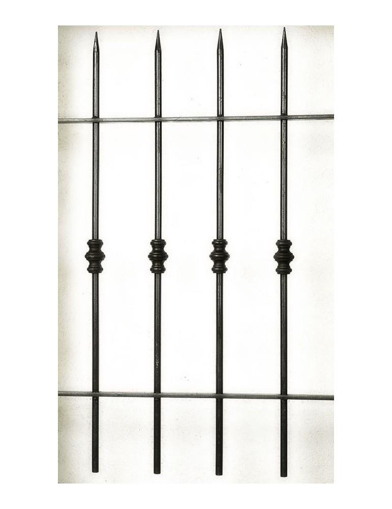 Grilles De Fenêtre Série Eco Grille Bry 100 X 95 Diamètre 14 Acie