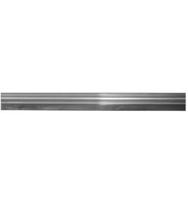 pièce élément ferronnier serrurier Moulure d'angle LISSE Acier largeur 40mm Longueur 3000 Ref: BBMA261AC