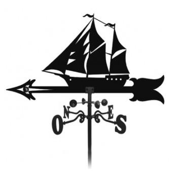 élément prêt à poser Girouette bateau des océans 1000x900 fer forgé Ref: BE16211