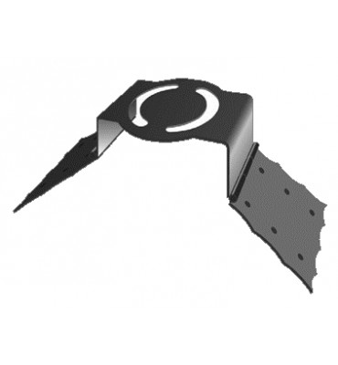 élément prêt à poser Support Girouette acier Ref: BE16280