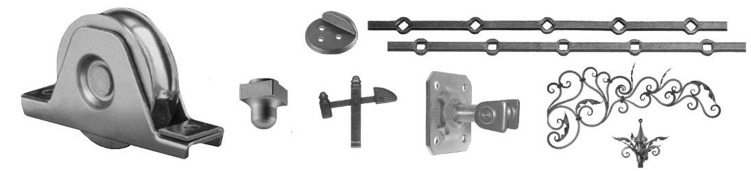 Accessoires, éléments, pièces détachées pour portail, portillon, accès piscines, sécurité piscine