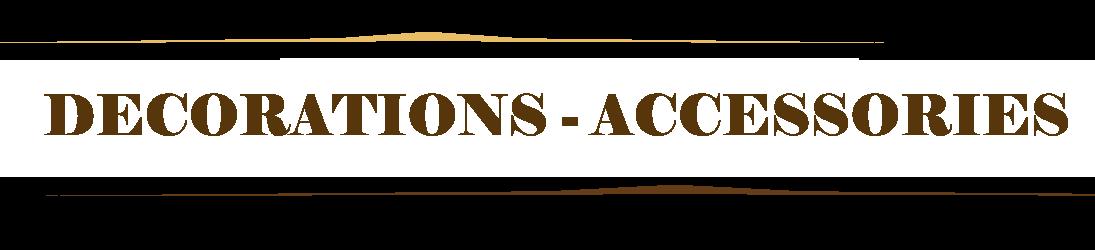 Accessoires Décoration Portail Ouvrant ou Coulissant en fer forgé