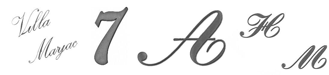Chiffres Lettres et Autres