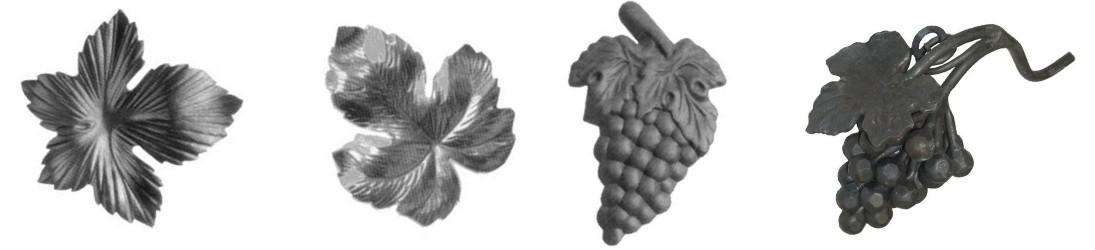 Grappes et Feuilles de Vignes