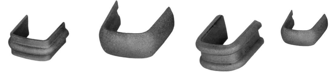 Colliers et sertissages pour barres en acier fer forgé