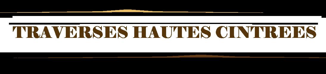 Traverses Hautes, Cintrées Portail en fer forgé.