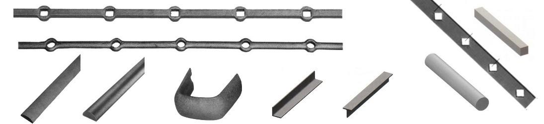 barres d'acier, tôle et caillebotis, pièces détachées et accessoires pour les ferronniers les particuliers et les professionnels